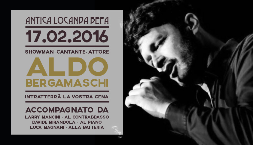 Evento Live<br>Aldo Bergamaschi